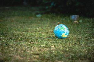 地球儀のボール
